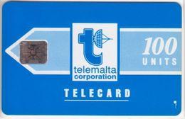 222/ Malta; P2. Telemalta Logo, 100 Ut., CN 35485, Matt - Malta
