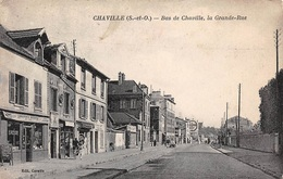 CHAVILLE.Bas De Chaville.La Grande Rue.n°479J - Chaville