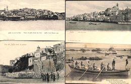 Israel - Jaffa - Lot Of 4 Postcards (animation, Phare) - Israel
