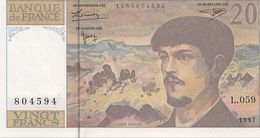 20 FRS DEBUSSY NEUF  L 059 1997 - 1962-1997 ''Francs''
