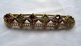 Ancienne Broche Barrette Dans Le Style Art Déco - Broches