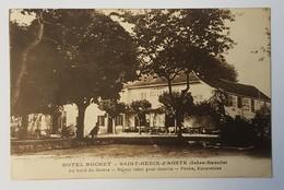 SAINT-GENIX-D'AOSTE    HOTEL ROCHET    DEPT 73 SAVOIE - Autres Communes