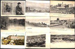 Israel - Lot Of 18 Postcards (Mont Carmel, Gethsemaneh, Porte De Damas, Hebron...) - Israel