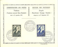 PRIMER JOUR DE EMISION 1937 - ....-1951
