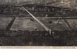11659-IL 5° GRUPPO D'ASSALTO AL FORZAMENTO DEL PIAVE A NERVESA-1918-FP - Guerra 1914-18