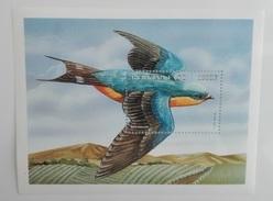 Burkina Faso 1998** Bl.179. Birds. Swallow MNH [6;66] - Swallows