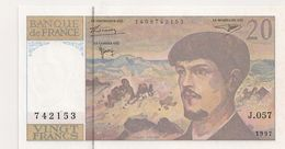 20 FRS DEBUSSY J  057 1997 NEUF - 1962-1997 ''Francs''