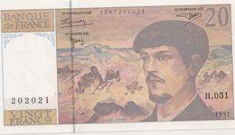20 FRS DEBUSSYNEUF H 051 1997 - 1962-1997 ''Francs''