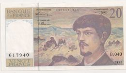 20 FRS DEBUSSY NEUF B 040 1993 - 1962-1997 ''Francs''