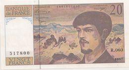 20 FRS DEBUSSY NEUF R 060 1997 - 1962-1997 ''Francs''
