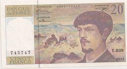 20 FRS DEBUSSY  NEUF T 039 1993 - 1962-1997 ''Francs''