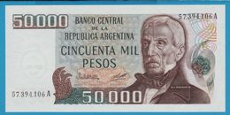 ARGENTINA 50000 Pesos ND (1979-1983)Serie A  P# 307 - Argentine