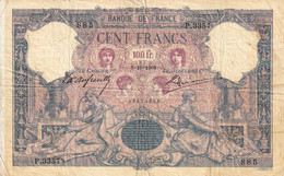 France  100 Francs 1901 - 1871-1952 Circulated During XXth