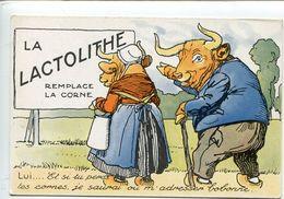 Animaux Habillés Publicité Lactolithe - Publicité