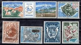 TAAF Petite Collection De Posta Aérienne Oblitérés 1970/1971. Bonnes Valeurs. B/TB. A Saisir! - Airmail