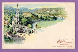 Olibet Gaufrette A La Confiture  Lourdes La Basilique - Lourdes