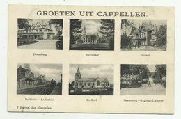 Cappellen - Kapellen   *   Groeten Uit Cappellen  (Hoelen) Denneburg Ingang - Statie - Kerk - Sterrenhof - Irishof - Kapellen