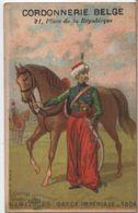 Chromo Ancien/Militaria/Mamelucks Garde Impériale/Cordonnerie Belge/Pl. De La République/PARIS/Sicard /Vers 1900 IMA353 - Other