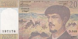 20 FRS DEBUSSY  NEUF  D 048 1995 - 1962-1997 ''Francs''