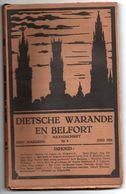 Lot Van 3 Tijdschriften Dietsche Warande En Belfort - Nrs 6/7 En Dubbelnr 8-9  Jaargang 24 (1924) - Tijdschriften