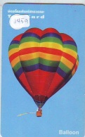 Telecarte  JAPON * SPORT * MONTGOLFIERE (1459) Hot Air Balloon * Ballon * Aerostato  * TELEFONKARTE * PHONECARD JAPAN * - Sport