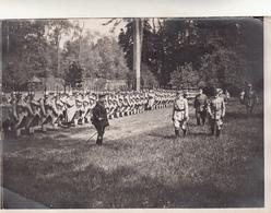 Versailles, Il Generale Italiano De Robilant E Il Generale Belin Passano In Rassegna Le Truppe. Foto Originale D'epoca - 1914-18