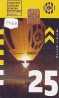 Telecarte  JAPON * SPORT * MONTGOLFIERE (1466) Hot Air Balloon * Ballon * Aerostato  * TELEFONKARTE * PHONECARD JAPAN * - Sport