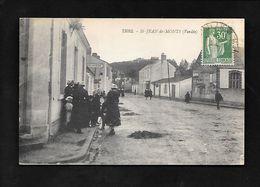 Cpa....St-Jean-de-Monts....(vendée).....animée....(rue Principale ! ).... - Saint Jean De Monts