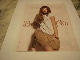 PUBLICITE AFFICHE VETEMENT BEL AIR - Vintage Clothes & Linen