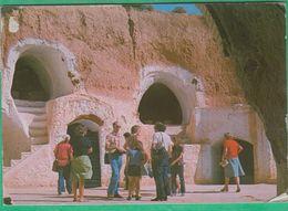 Tunisie - Matmata - Habitation Troglodyte - Tunisie