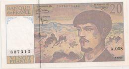 20 FRS DEBUSSY  A 058 NEUF 1997 - 1962-1997 ''Francs''