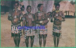 Zimbabwe - B'tonkas With Hubble Bubble Pipes (Femmes Sains Nus) - Zimbabwe