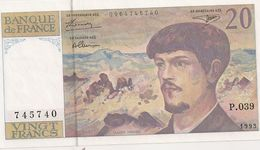 20 FRS DEBUSSY P 039 NEUF 1993 - 1962-1997 ''Francs''