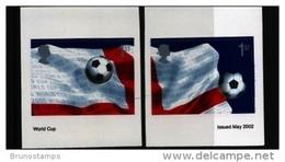 GREAT BRITAIN - 2002   WORLD CUP  SELF-ADHESIVE  SET  MINT NH - Nuovi