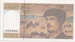 20 FRS DEBUSSY NEUF M 055 1997 - 1962-1997 ''Francs''