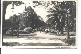 SAO PAULO,PRACA DE REPUBLICA.viaggiata--1928-fp-n.4742 - São Paulo