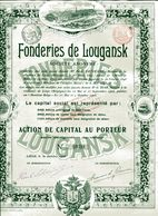FONDERIES De LOUGANSK - Russia