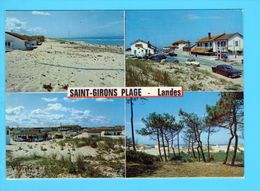 Cp Cartes Postales  -  St Girons Plage - France
