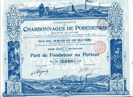 CHARBONNAGES De POBEDENKO - Russia