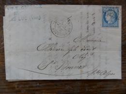 19.02.18_LAC De Le Luc-en-Provence,variétés Sur N°60,bouchons Et Lieges - 1849-1876: Période Classique
