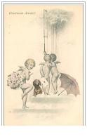 Heureuse Année Angelots - Nieuwjaar