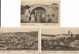 ASIE  -  3 Cartes De  NAZARETH - Israele