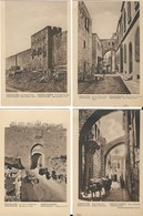 6 Cartes De JERUSALEM - Israele
