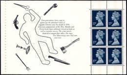 GREAT BRITAIN (GB) 1991 - SG X1008l - Pane From Prestige Booklet DX 12 - Alias Agatha Christie - MNH - 1952-.... (Elizabeth II)