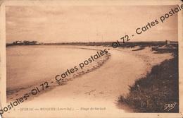 CPSM - Loire Atlantique - Quimiac En Mesquer (Loire Inf) Plage De Sorlock - Autres Communes