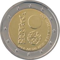 ESTLAND ESTONIA 2018 - 2 EURO 100 Jahre REPUBLIC COIN  UNC FROM MINT ROLL - Estonia