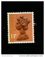 GREAT BRITAIN - 1988  MACHIN  13p.  LB  LITHO   MINT NH  SG  X1006Ea - Machins