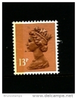GREAT BRITAIN - 1988  MACHIN  13p.  LB  LITHO   MINT NH  SG  X1006Ea - 1952-.... (Elizabeth II)