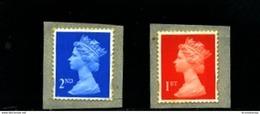 GREAT BRITAIN - 1998  MACHIN  2nd+1st CLASS  PHOTO  SELF ADHESIVE  SET  MINT NH - 1952-.... (Elisabetta II)