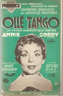 Partitions Editions Musicales Présence De 1961 Ollé Tango Créé Par Annie Cordy - Scores & Partitions